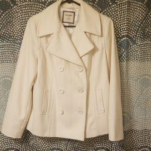 Old Navy Vintage off white pea coat